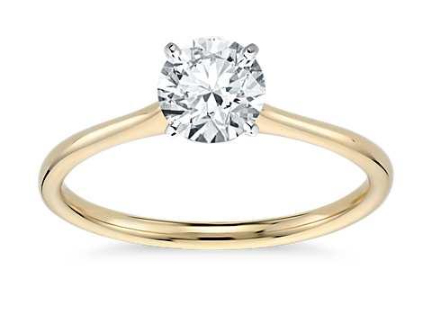 Anillos de compromiso de diamantes vintage