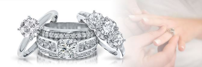 Anillos De Promesa Con Diamantes