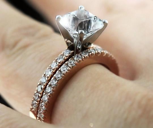 anillos de boda para mujeres hermosos
