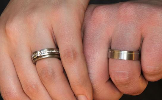 anillos de boda walmart