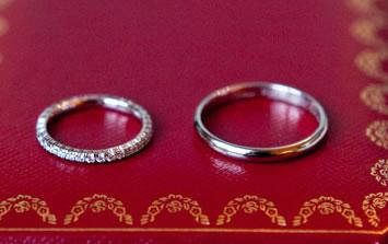 argollas matrimoniales de oro blanco