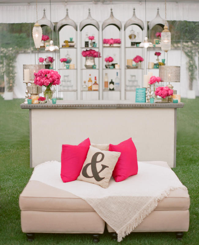 estilo lounge colorido para bodas en monterrey