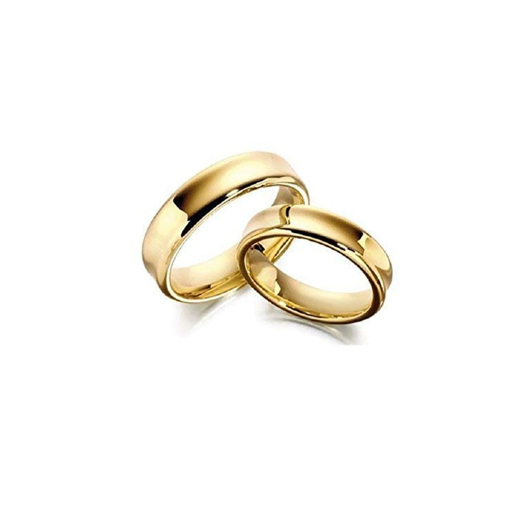 Argollas de Matrimonio Oro Amarillo 14 Kilates