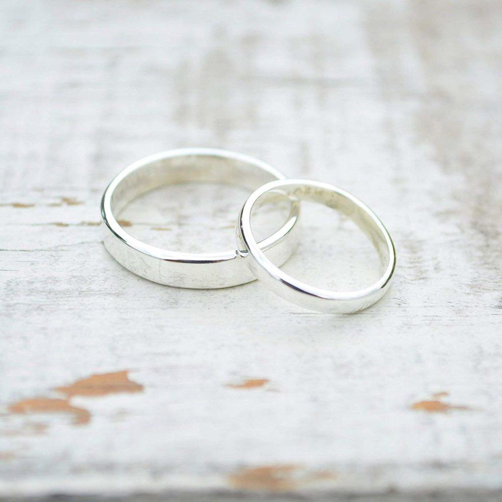 Argollas Matrimoniales de Plata Joyeros Mexicanos