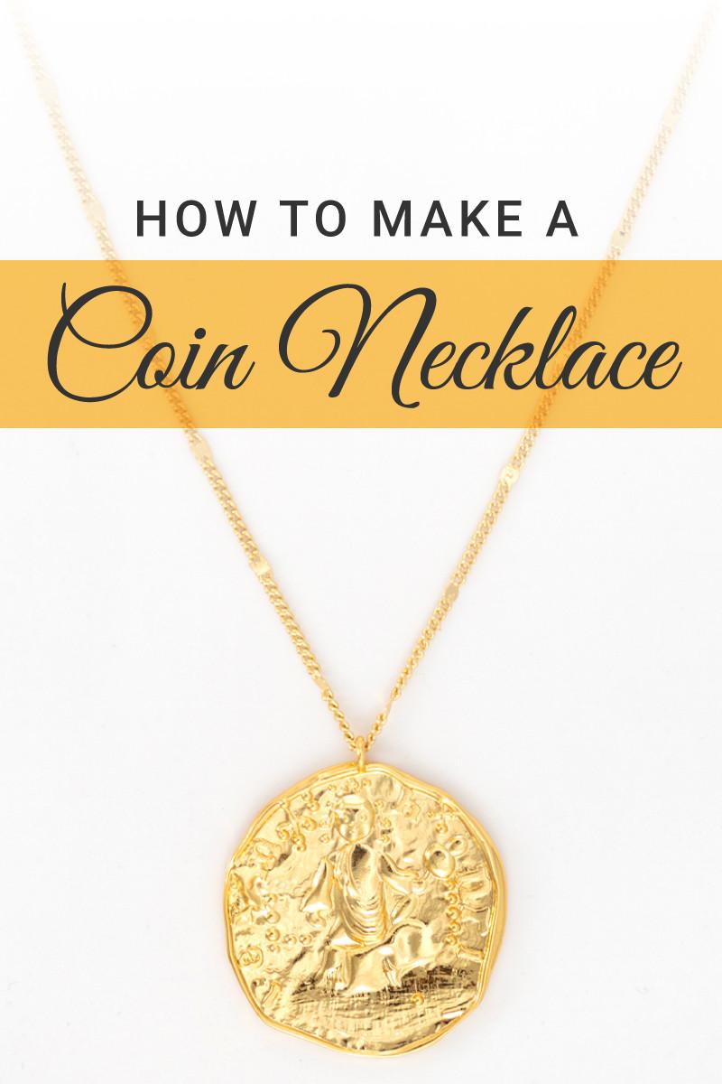 Cómo hacer un collar de monedas