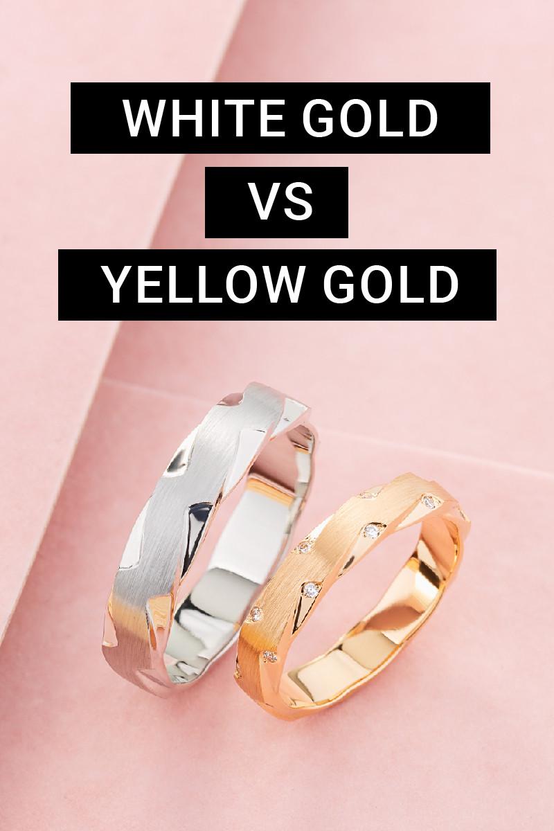 Oro blanco vs oro amarillo: una comparación completa